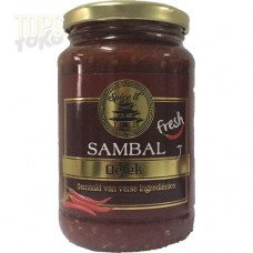 Spice It Sambal Oelek 375 gram.